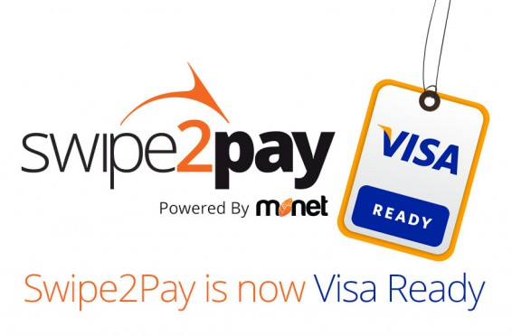 Monet's Swipe2Pay MPOS solution is now Visa Ready